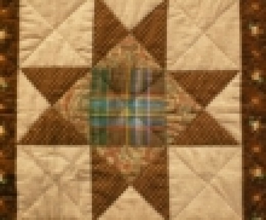 4)This pattern is most commonly called Lone star design