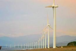 famous Bangui Windmills in Ilocos