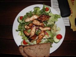Sichuan Sliced Chicken Breast Salad (Pong-pong Chicken)