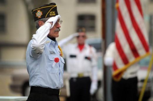My Dad - Veterans Day 2010