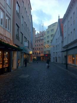 European inner city