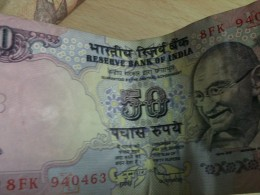 Rupee 50 note INR