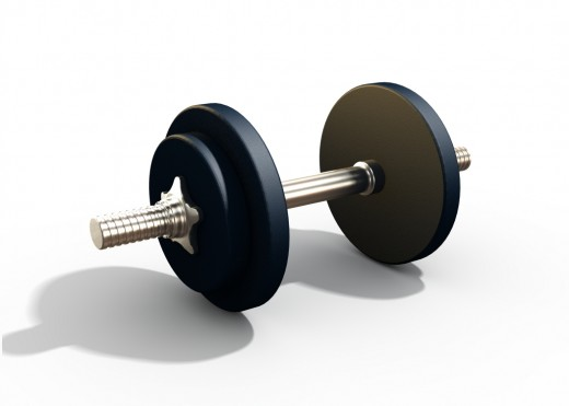 Weightlifting can be a great way to get in shape and lose weight!