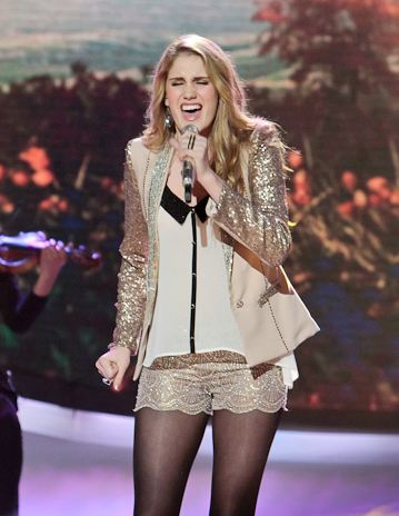 American Idol Fashion and Trends 2012 - Lace Shorts