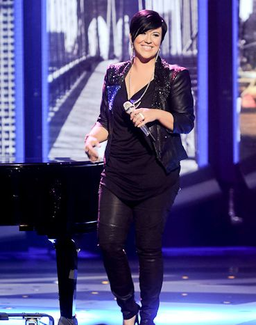 American Idol Fashion and Trends 2012 - Sequined Jacket