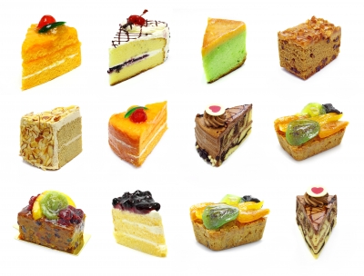 "Image(s): FreeDigitalPhotos.net Download ""Assorted Slices Cake"" by Anusorn P nachol"