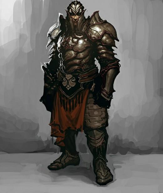 Kormac, D3's templar follower