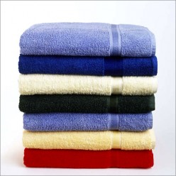 So do you leave the tags on your bath towels, or do you rip them off ?