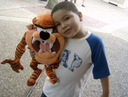 "My youngest ""The Little One"".  Taken at Six Flags, NJ July, 2006."