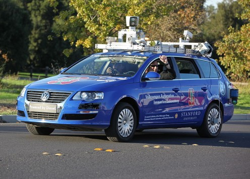 Hands free driving with an autonomous car