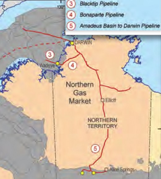 This map show the Northern grid; many offshore projects exist and development growth is high.