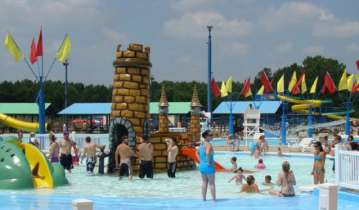 Splash kingdom water town, Shreveport, Louisiana
