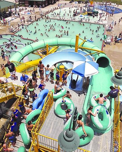 Spar water park, Sulphur, LA