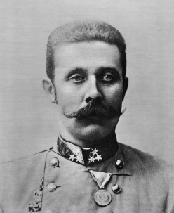 The assasination of Franz Ferdinand sparked the outbreak of World War one.