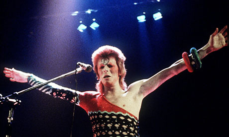 Ziggy would have played guitar at Glitter.