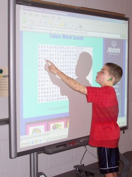 Exposure to smartboard radiation