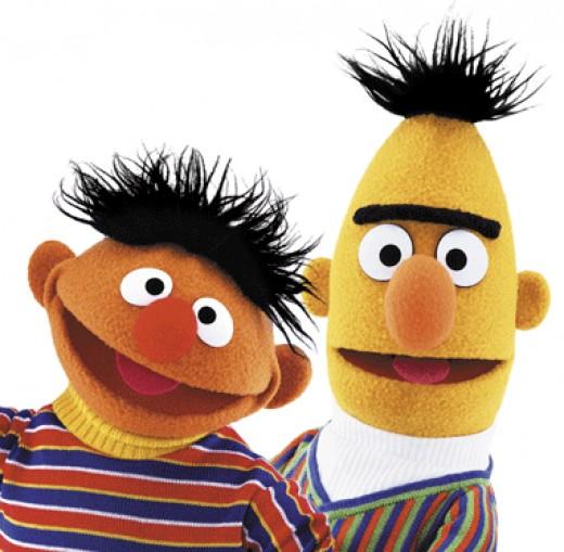 Help Bert find Ernie in the Find Your Mate icebreaker activity!