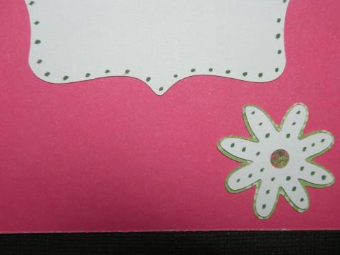 Tiny dots embellishment