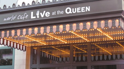 Entrance of World Cafe Live at the Queen, located at 500 North Market Street in Wilmington, DE