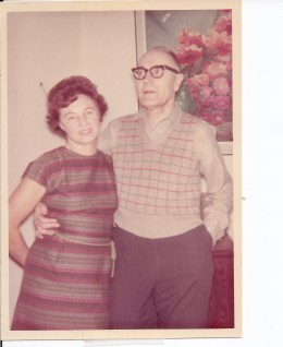 Lat pic of mom and dad together in 1967