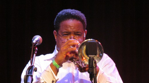 Gerald Chavis, does background vocals, plays an awesome trumpet and flugelhorn.