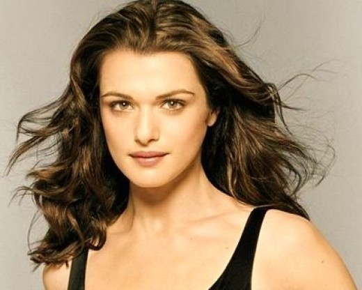 Rachel Weisz makeup tips for eyes, eyebrows, lips, blush, foundation, skin