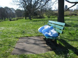 You may have seen homeless people sleeping on park benches or at transit stops, but some cities have designed the benches to make it impossible to sleep on.