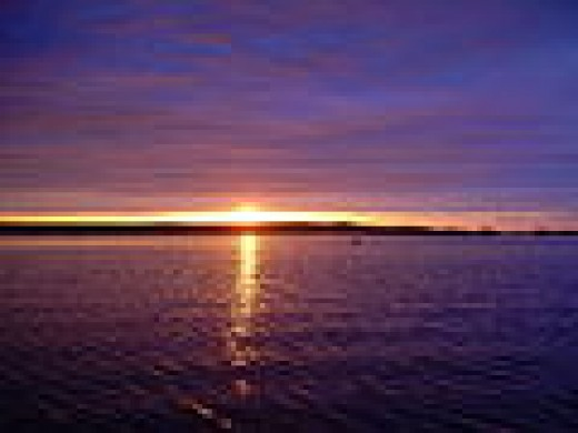 Seeing dealth at the end of life is like seeing the horizon at the end of the ocean      -David Searls