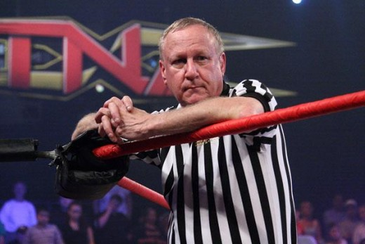 Perhaps the greatest referee of all time, Earl Hebner