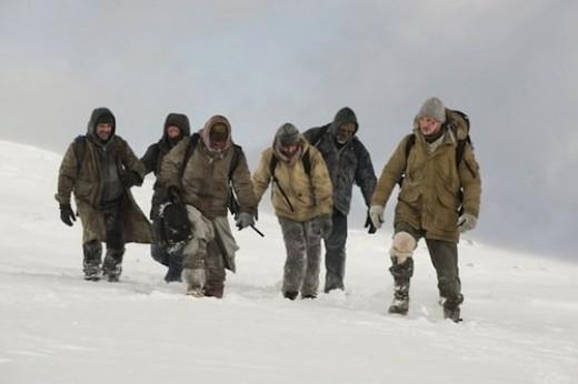 Survivors Crossing the Alaskan Wilderness