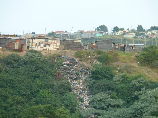 No rubbish removal in Informal settlements