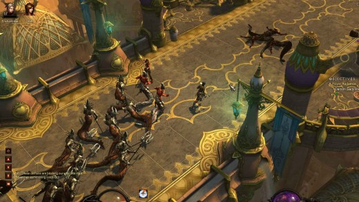 Diablo 3 Royal Audience Quest - not just an obedient audience but a blood seeking pack of snakeman and writhing deceivers