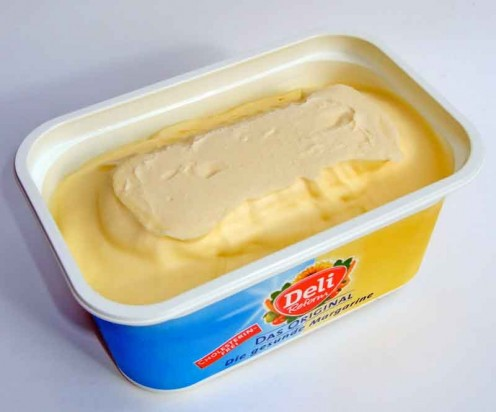 Margarine Is Rich in Poly Unsaturated Fats