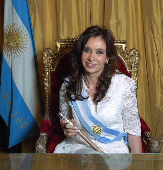 Argentina President Cristina Fernández de Kirchner