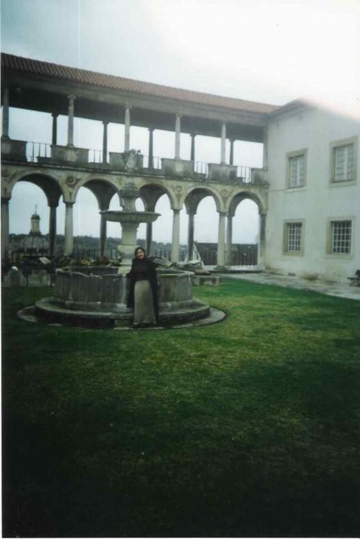 Interior garden at Machado de Castro Museum
