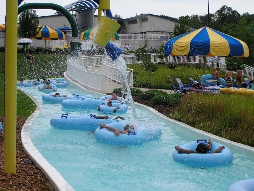 Aqua port water park in MO