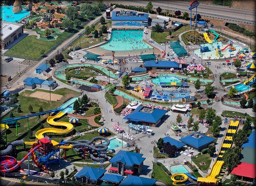 Roaring springs outdoor water park, Idaho
