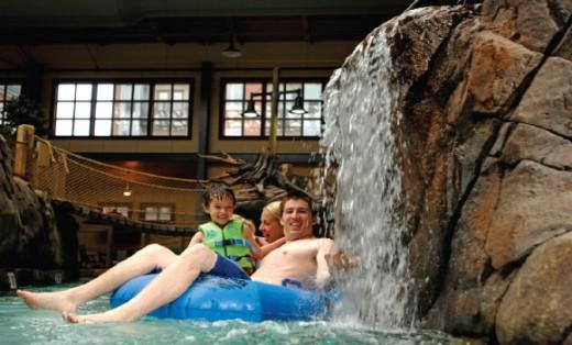Silver rapids indoor water park