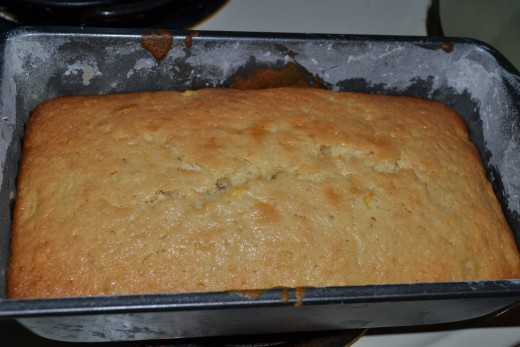 Pineapple Bread ready to be eaten