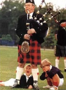 """I've Never Seen Such Saggy Bagpipes!"""
