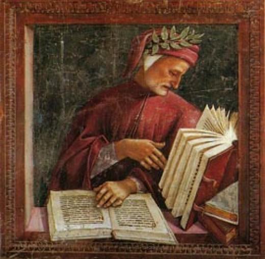 "Dante Aligheri, author of ""Sestina"""