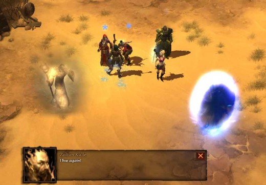 Diablo 3 Blood and Sand Quest - nothing good comes with collaborating with an evil spirit