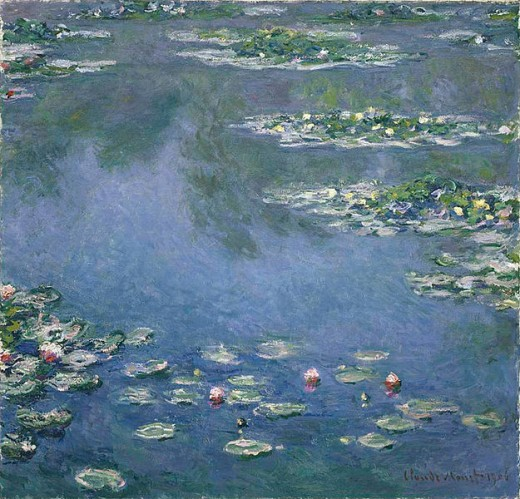 "Monet's ""Water Lilies"" ~ Chicago Art Institute"