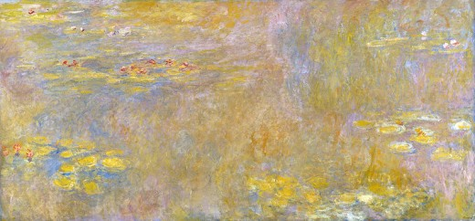 "Monet's ""Water Lilies"" ~ National Gallery, London"