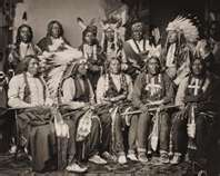 A gathering of Indian Chiefs