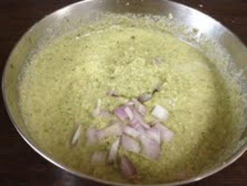 Add Chopped Onions.