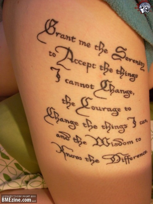 Tattoo Ideas: Quotes on Religions, God, Faith