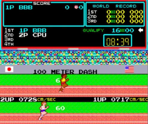 100m Dash