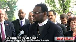 Maryland Bishop Harry Jackson wants Obama to return to Biblical marriages of polygamy and incest.