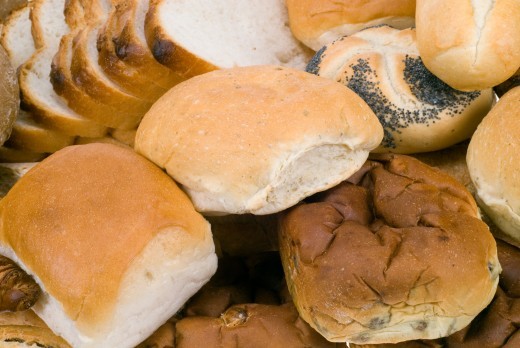 FRESH BAKED BREAD by Enjoylife25  Assortment of fresh baked bread
